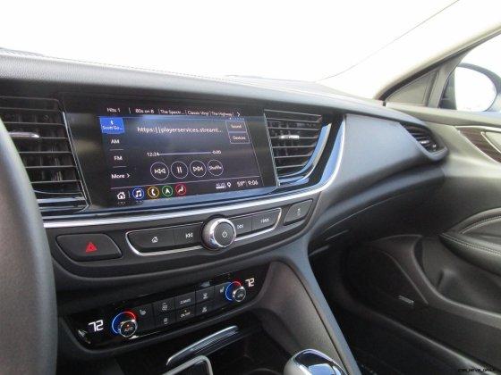 2019 Buick Regal TourX Essence AWD Interior Photos Ben Lewis 31