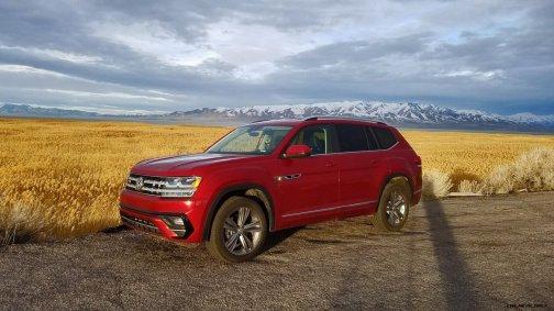 2019 VW Atlas R-Line Matt Barnes 1