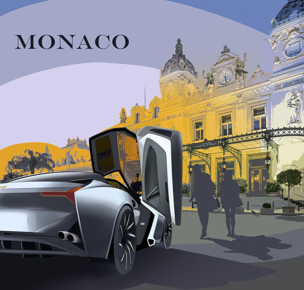 2020 McLaren Monaco - By Nathan Malinick 2