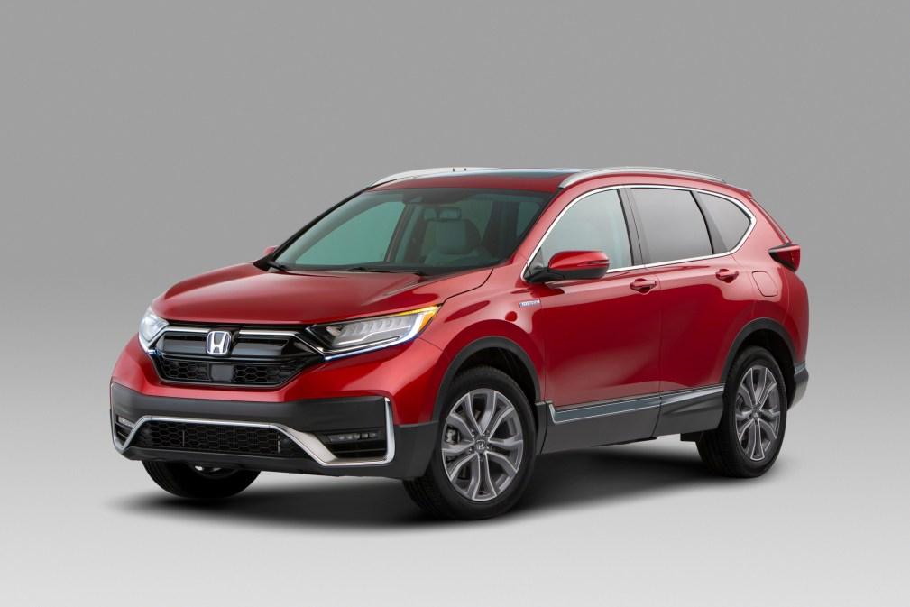 01 2020 Honda CR-V Hybrid