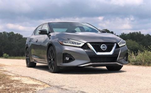 2019 Nissan Maxima SR (2)