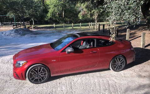 2019 Mercedes AMG C43 Coupe - Road Test Review - Burkart (29)