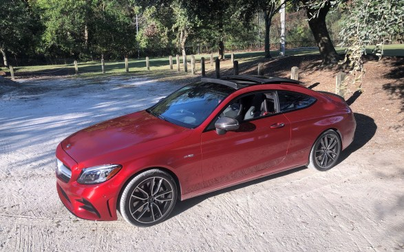 2019 Mercedes AMG C43 Coupe - Road Test Review - Burkart (30)