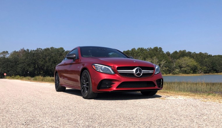 2019 Mercedes AMG C43 Coupe - Road Test Review - Burkart (48)