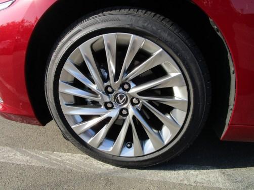 2019 Lexus ES350 Ultra Luxury Red (18)