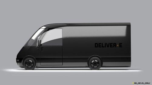 Bollinger Motors DELIVER-E Side