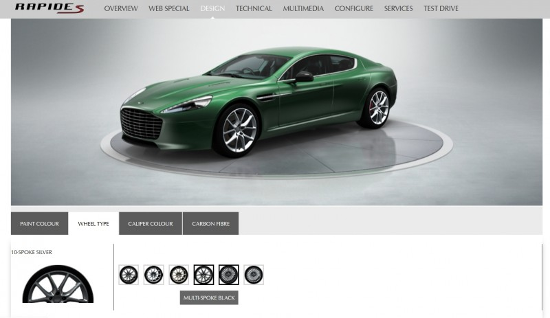 4.2s, 200-MPH 2015 Aston Martin RAPIDE S Also Nabs New Dampers, Torque-Tube and 8-Speed ZF Transaxle 17