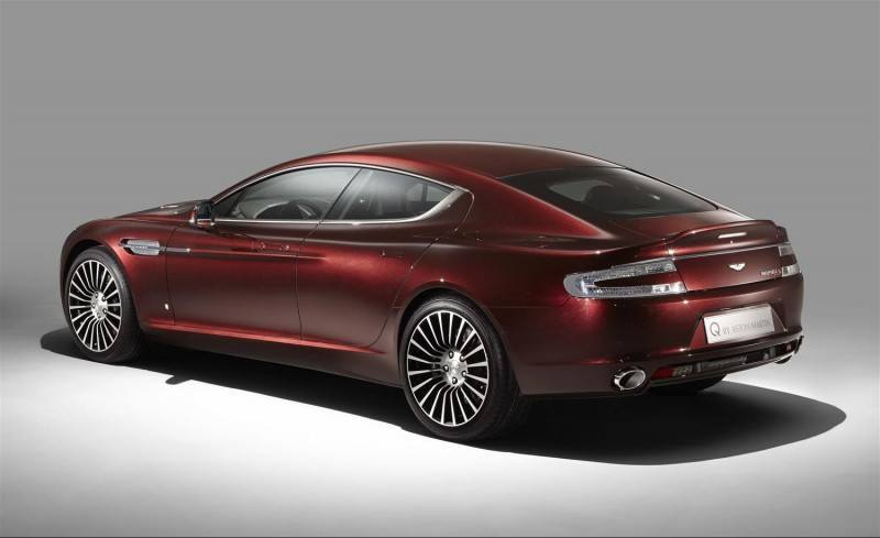4.2s, 200-MPH 2015 Aston Martin RAPIDE S Also Nabs New Dampers, Torque-Tube and 8-Speed ZF Transaxle 183