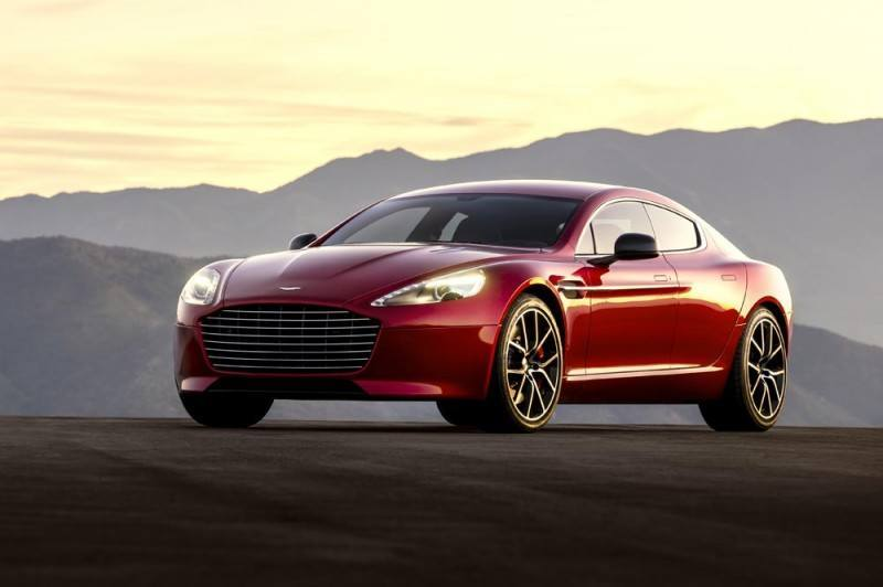 4.2s, 200-MPH 2015 Aston Martin RAPIDE S Also Nabs New Dampers, Torque-Tube and 8-Speed ZF Transaxle 206