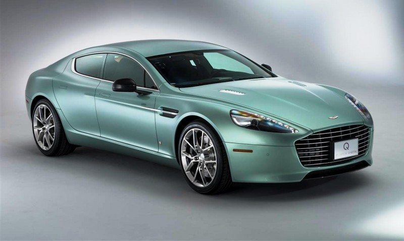 4.2s, 200-MPH 2015 Aston Martin RAPIDE S Also Nabs New Dampers, Torque-Tube and 8-Speed ZF Transaxle 3
