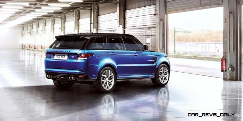4.5s, 162MPH 2015 Range Rover Sport SVR is Official 2