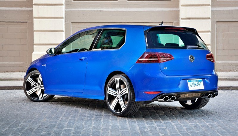 4.9s VW Golf R Officially Coming to USA in January 2015 With At Least 290HP 2