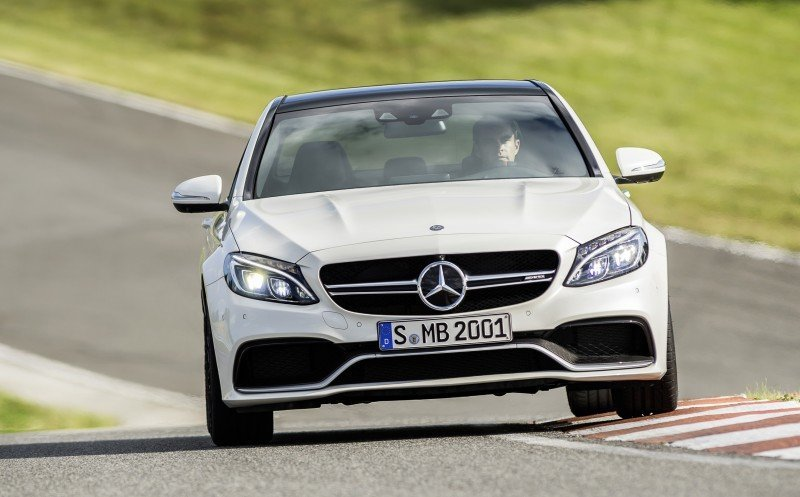 510HP, 3.9s 2015 Mercedes-AMG C63 S Joings New C63 - Without the Benz Name 11