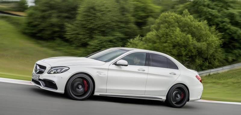 510HP, 3.9s 2015 Mercedes-AMG C63 S Joings New C63 - Without the Benz Name 13