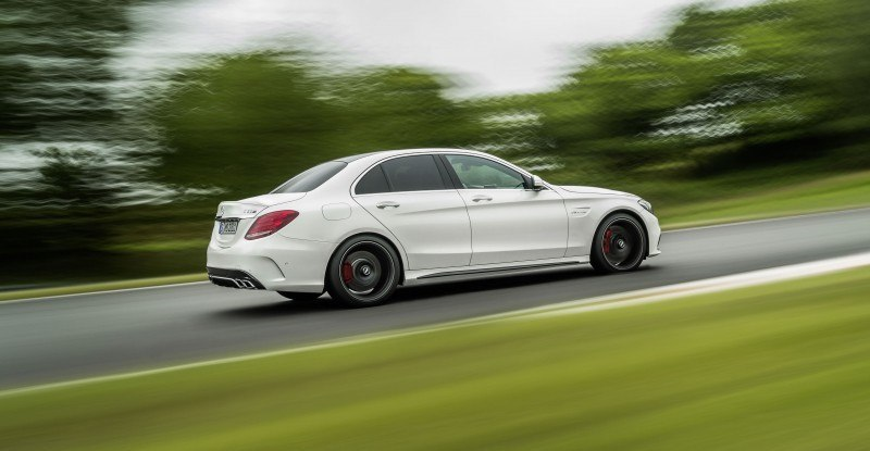 510HP, 3.9s 2015 Mercedes-AMG C63 S Joings New C63 - Without the Benz Name 15