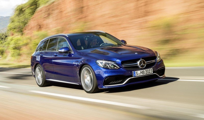 510HP, 3.9s 2015 Mercedes-AMG C63 S Joings New C63 - Without the Benz Name 36