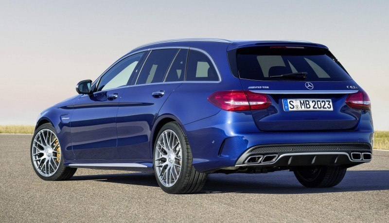 510HP, 3.9s 2015 Mercedes-AMG C63 S Joings New C63 - Without the Benz Name 40