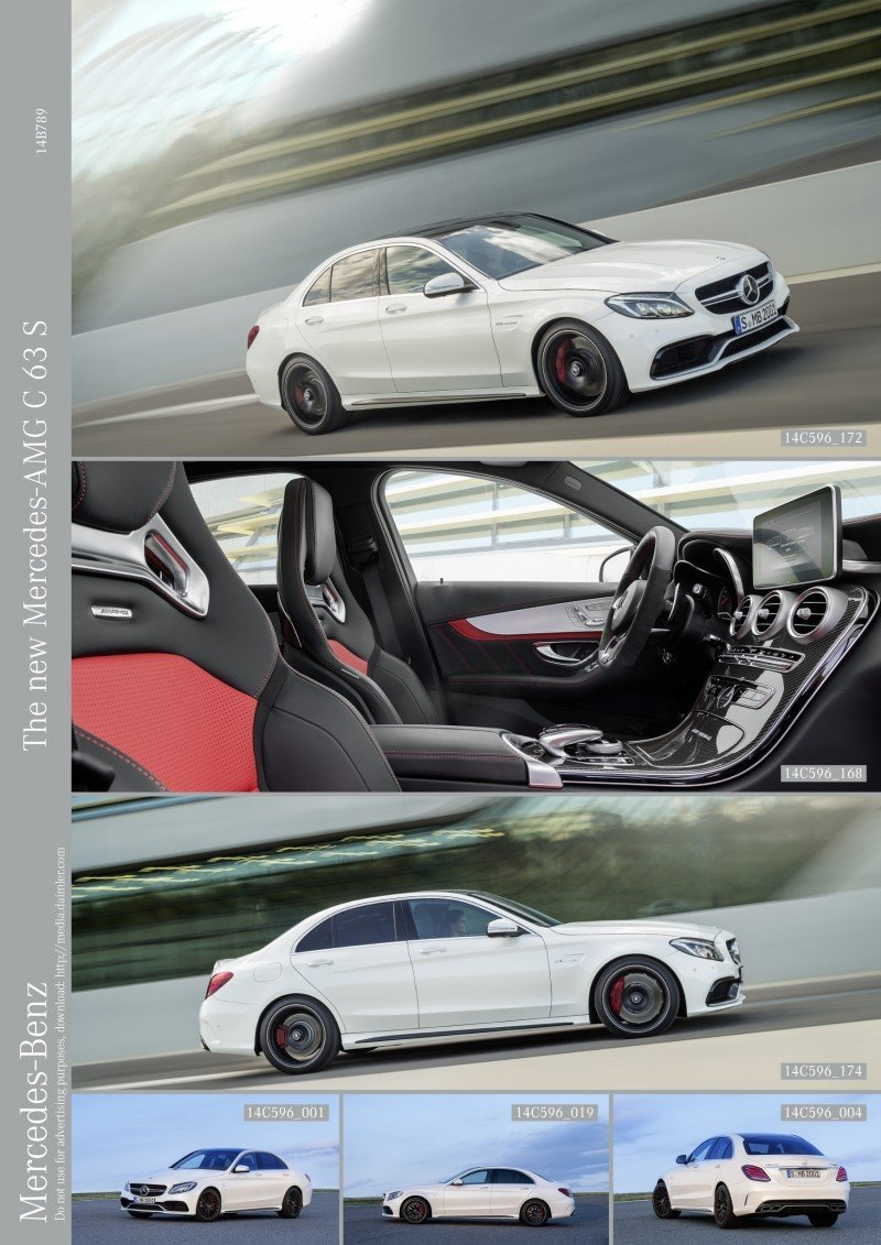 510HP, 3.9s 2015 Mercedes-AMG C63 S Joings New C63 - Without the Benz Name 42