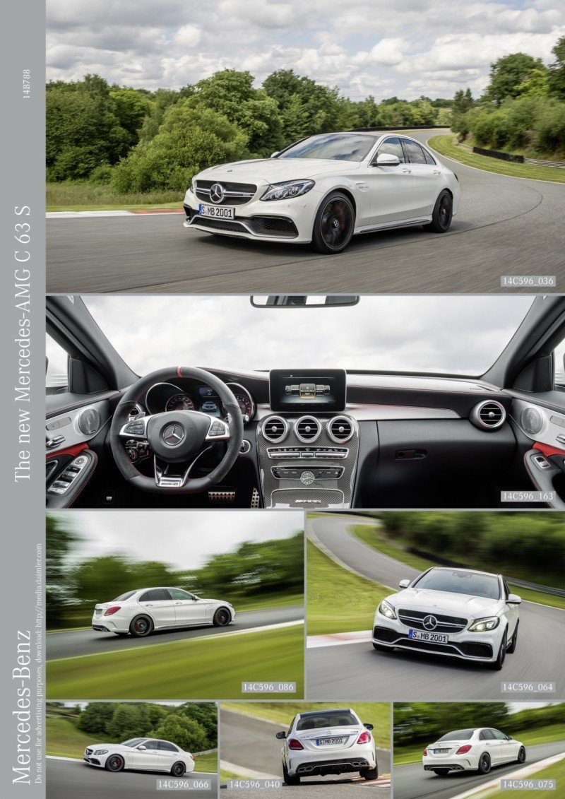 510HP, 3.9s 2015 Mercedes-AMG C63 S Joings New C63 - Without the Benz Name 44