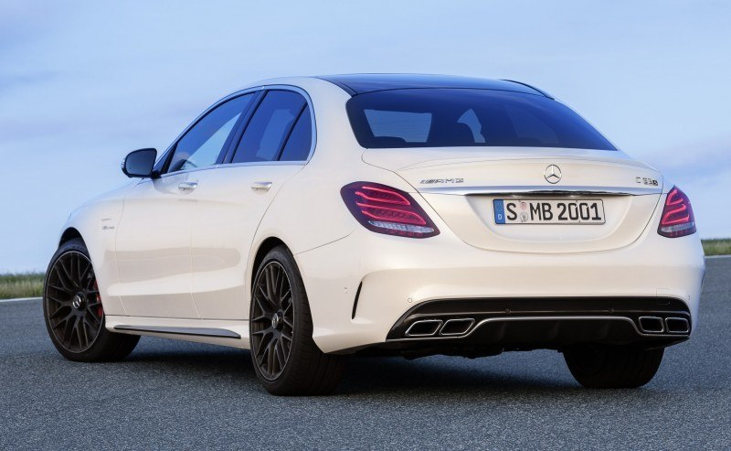 510HP, 3.9s 2015 Mercedes-AMG C63 S Joings New C63 - Without the Benz Name 5