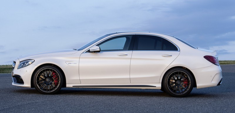 510HP, 3.9s 2015 Mercedes-AMG C63 S Joings New C63 - Without the Benz Name 7