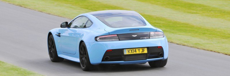 Aston Martin Zings Up Goodwood Hill (to its AMG Future) in Vantage S, Rapide S and Vanquish 13