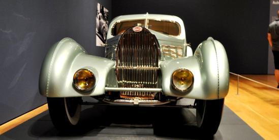 Atlanta Dream Cars - 1935 Bugatti 57S Competition Coupe Aerolithe Wears Gorgeous Elektron Magnesium Panels12
