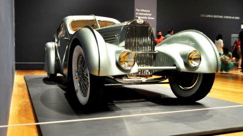 Atlanta Dream Cars - 1935 Bugatti 57S Competition Coupe Aerolithe Wears Gorgeous Elektron Magnesium Panels16