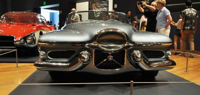 Atlanta Dream Cars - 1951 General Motors LeSabre XP-8 Struck Gold With Yank Tank Ethos of 1950s 10