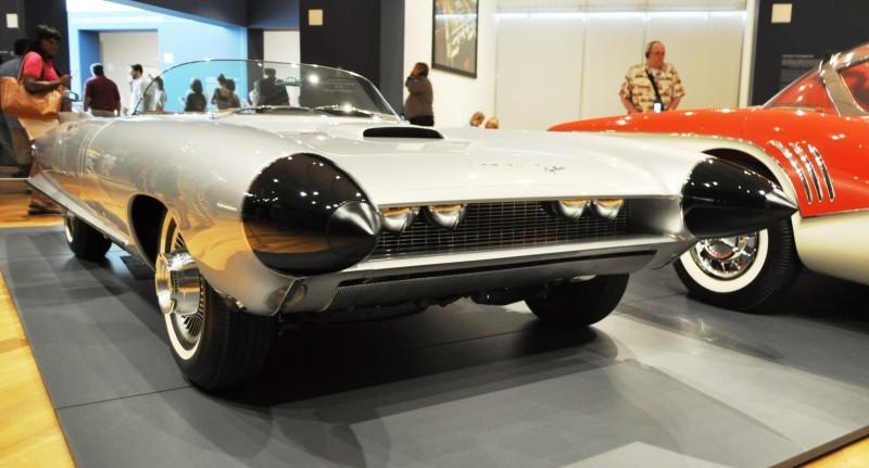 Atlanta Dream Cars Showcase - 1959 Cadillac Cyclone XP-74 Is Rocket Nose and Tailfin Bliss 11