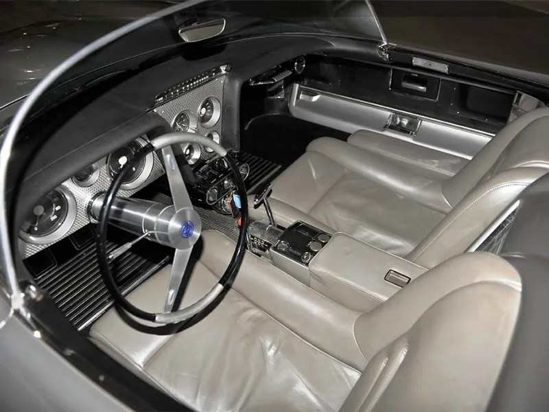 Atlanta Dream Cars Showcase - 1959 Cadillac Cyclone XP-74 Is Rocket Nose and Tailfin Bliss 8