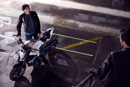 BMW Motorrad - Concept Roadster is Boxer Basics Motorcycle for Lake Cuomo 22