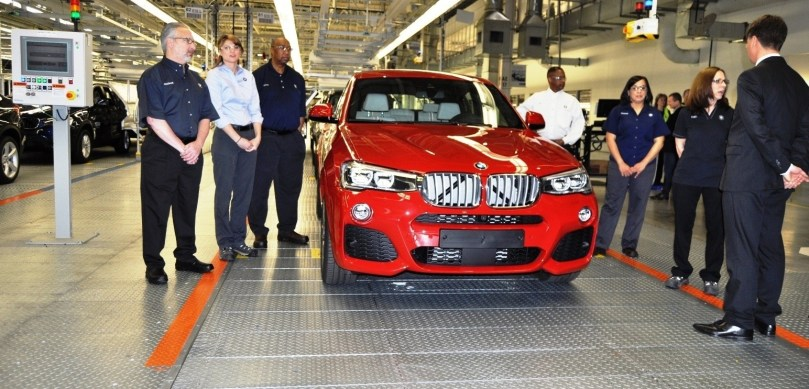 BMW X3 and X4 Factory Tour in 111 High-Res Photos -- Cool, Calm, and Quiet = Opposite of Most Auto Plants 91