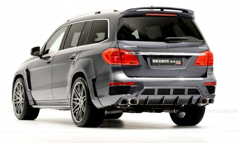 BRABUS B63S 700 Widestar Upgrades for Mercedes-Benz GL-Class Are Ready for Hollywood A-List 15