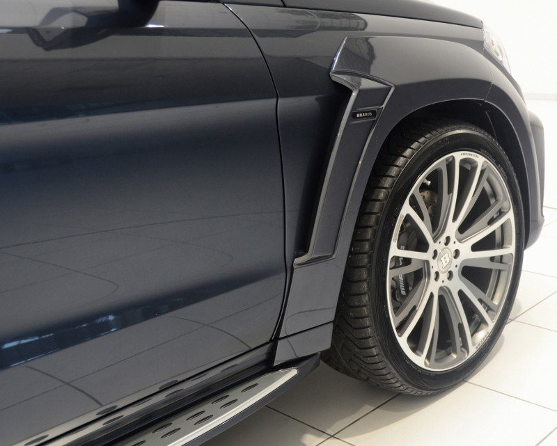 BRABUS B63S 700 Widestar Upgrades for Mercedes-Benz GL-Class Are Ready for Hollywood A-List 17