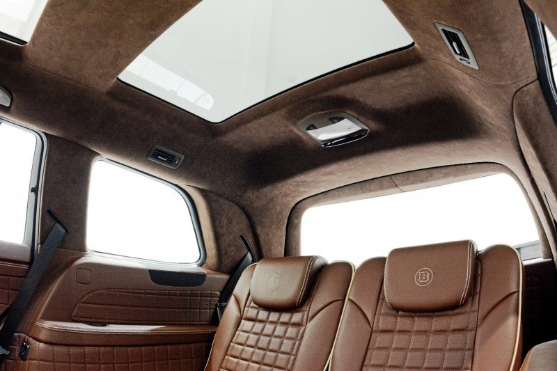 BRABUS B63S 700 Widestar Upgrades for Mercedes-Benz GL-Class Are Ready for Hollywood A-List 49