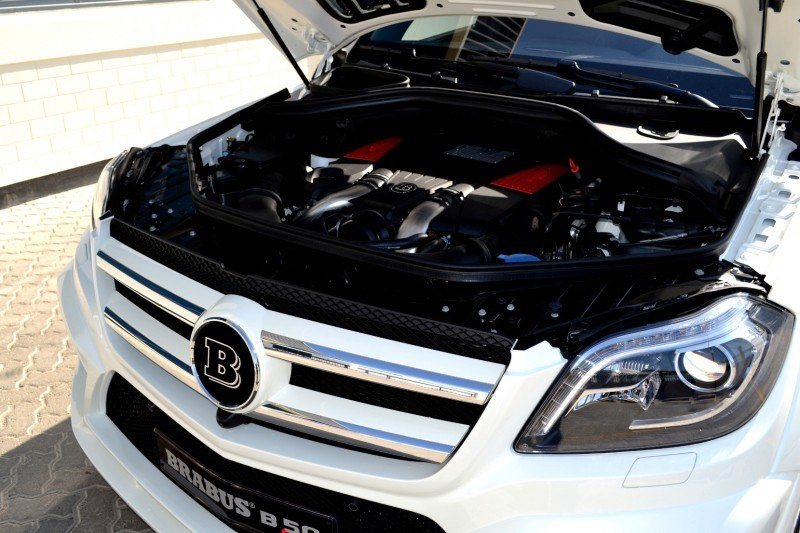 BRABUS B63S 700 Widestar Upgrades for Mercedes-Benz GL-Class Are Ready for Hollywood A-List 52