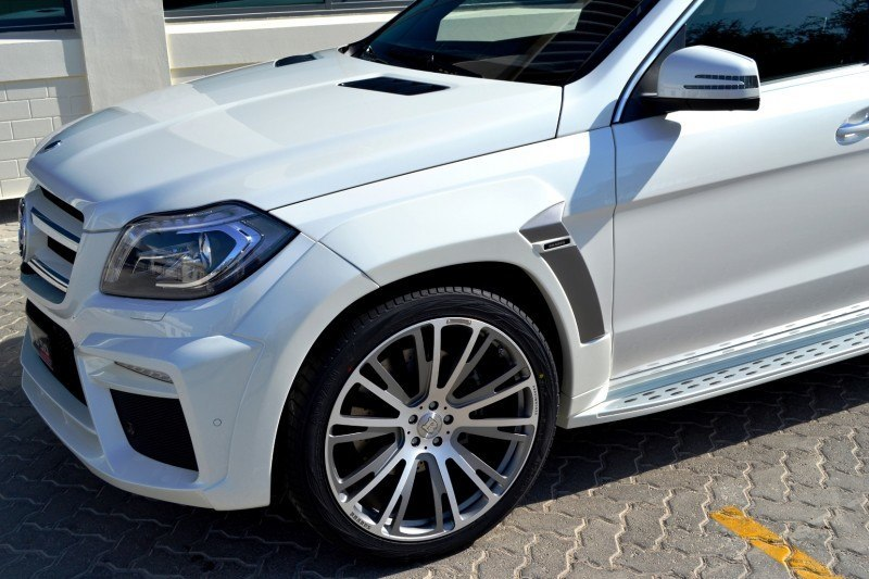 BRABUS B63S 700 Widestar Upgrades for Mercedes-Benz GL-Class Are Ready for Hollywood A-List 53