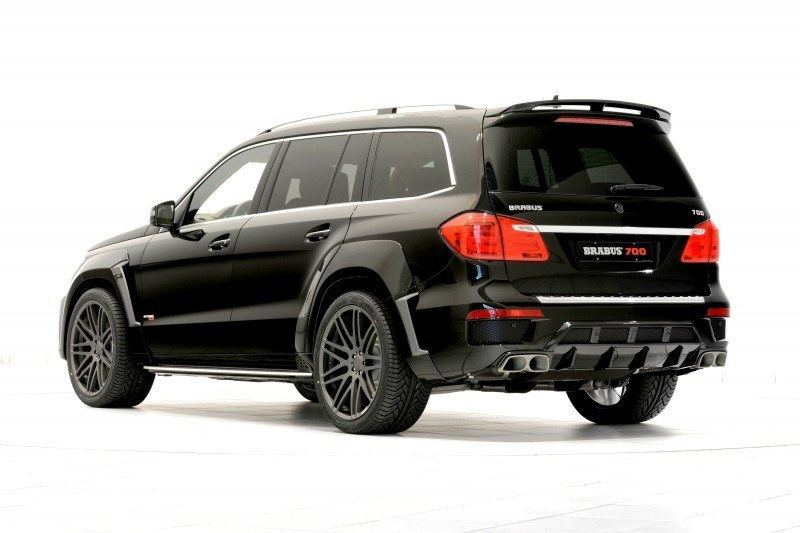 BRABUS B63S 700 Widestar Upgrades for Mercedes-Benz GL-Class Are Ready for Hollywood A-List 59