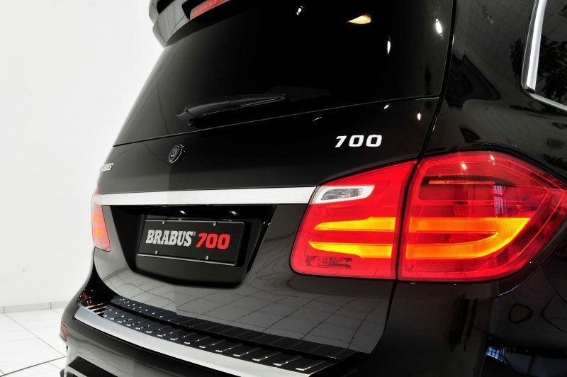 BRABUS B63S 700 Widestar Upgrades for Mercedes-Benz GL-Class Are Ready for Hollywood A-List 66