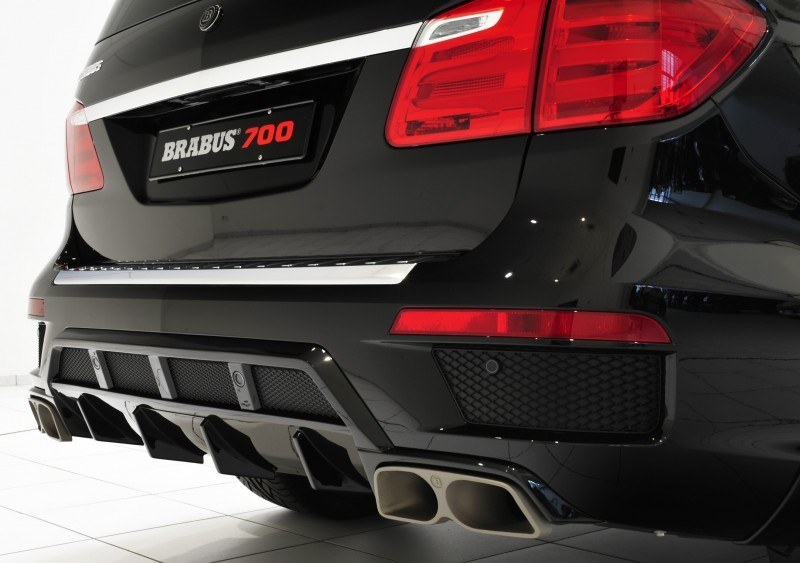 BRABUS B63S 700 Widestar Upgrades for Mercedes-Benz GL-Class Are Ready for Hollywood A-List 67