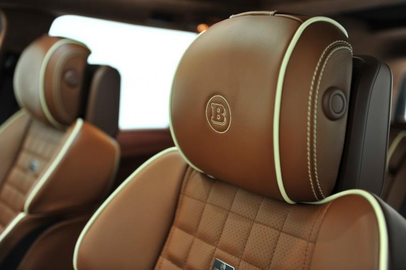 BRABUS B63S 700 Widestar Upgrades for Mercedes-Benz GL-Class Are Ready for Hollywood A-List 77