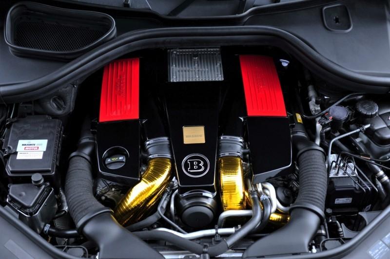 BRABUS Custom Interiors for the Mercedes-Benz ML-Class SUV 20