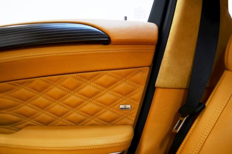 BRABUS Custom Interiors for the Mercedes-Benz ML-Class SUV 32