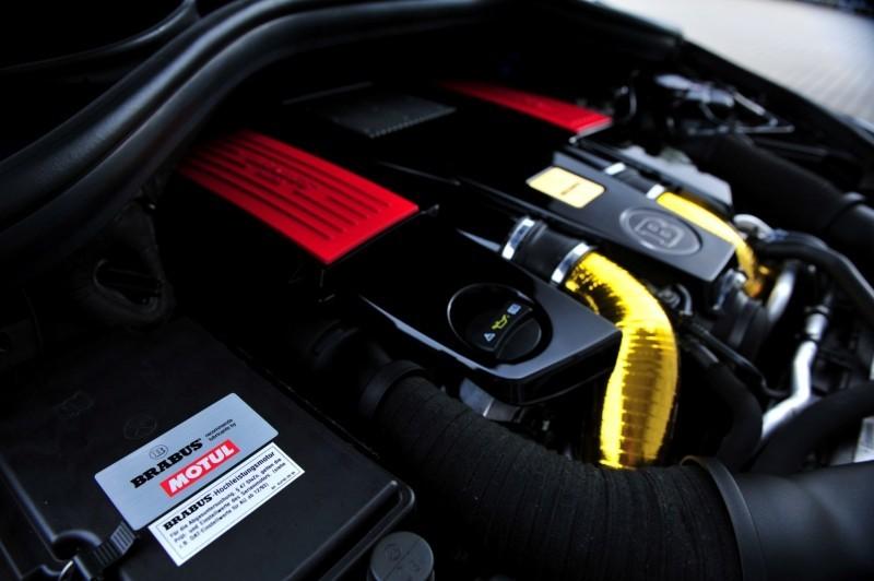 BRABUS Custom Interiors for the Mercedes-Benz ML-Class SUV 38