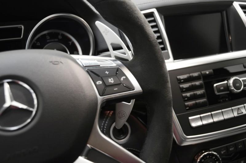 BRABUS Custom Interiors for the Mercedes-Benz ML-Class SUV 42