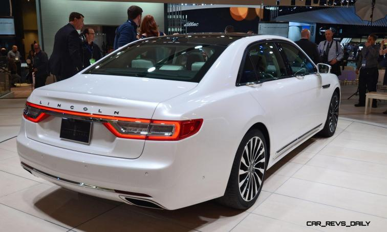 Best of NAIAS - 2017 Lincoln CONTINENTAL Limo 48
