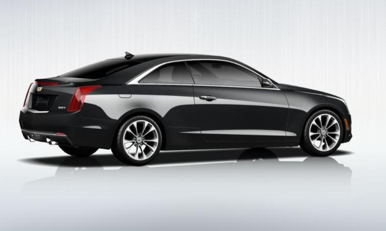 Black 2015 Cadillac ATS Coupe Premium 14