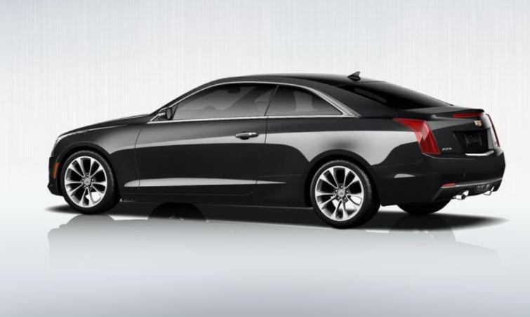 Black 2015 Cadillac ATS Coupe Premium 2