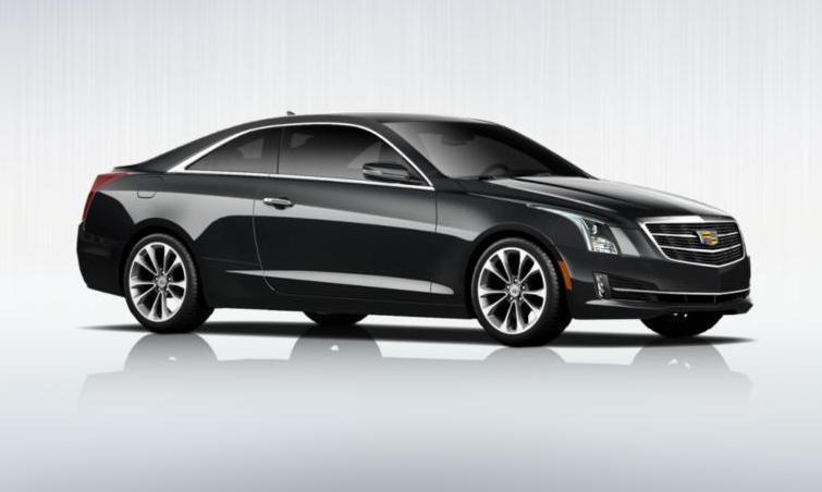 Black 2015 Cadillac ATS Coupe Premium 21
